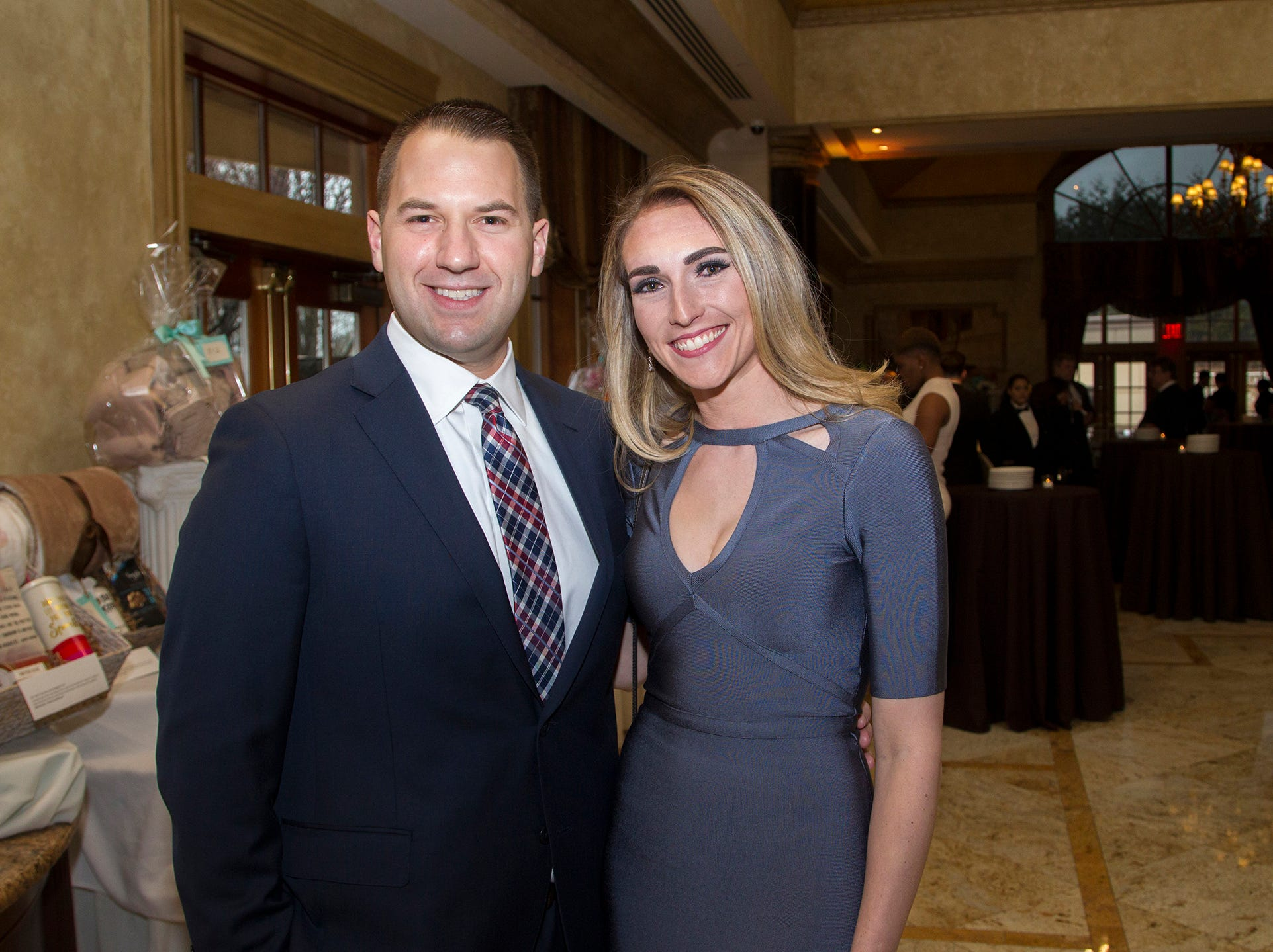 Michael and Lauren Bacsik. Oasis held its 23rd annual Gala of Hope at The Venetian in Garfield. 04/05/2019