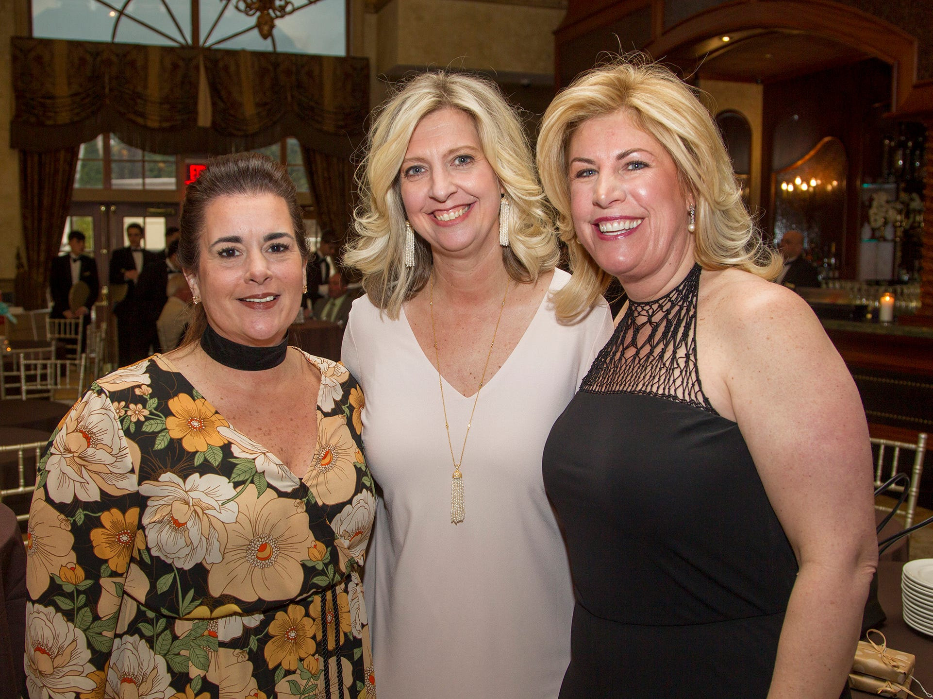 Lisa Crean, Christine Gallo, Chrysty Bisgrove. Oasis held its 23rd annual Gala of Hope at The Venetian in Garfield. 04/05/2019