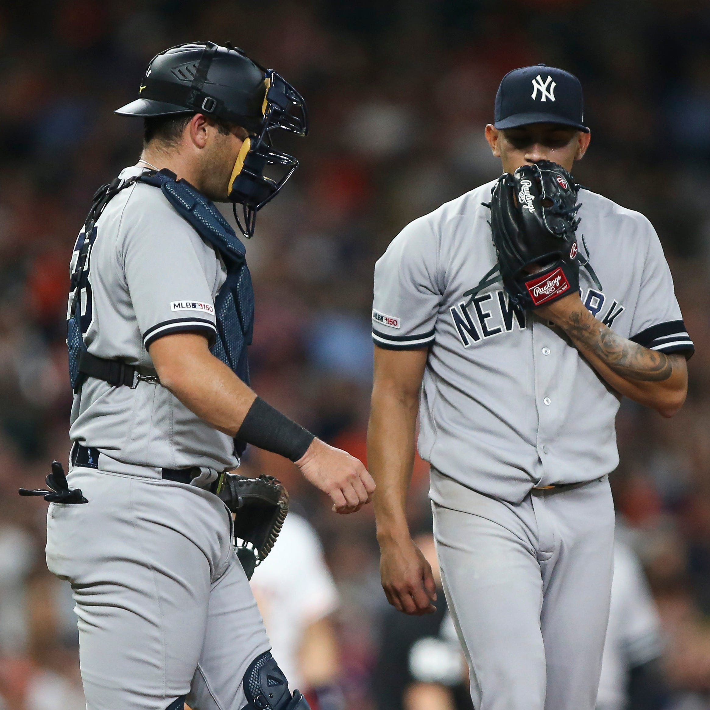 New York Yankees option Jonathan Loaisiga, call up Joe Harvey
