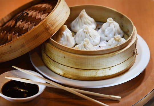 A dish of Juicy Buns, at Cheng Du 23 in Wayne on 04/10/19.