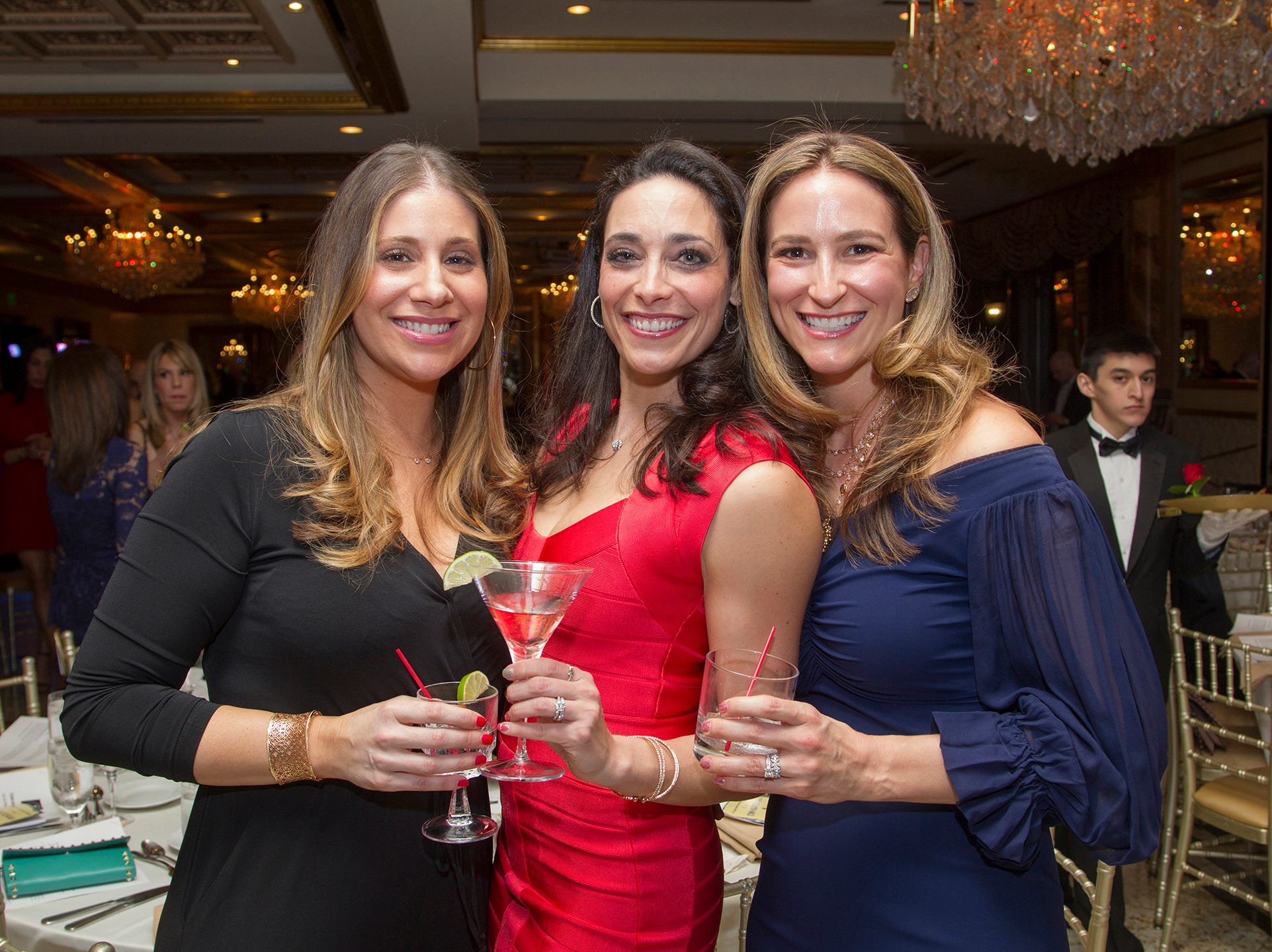 Angela Anastasi, Nicole Luftig, Jennifer Politis. Upper Saddle River Education Foundation hosted its Town Night Out Gala at Seasons in Washington Twp. 04/06/2019