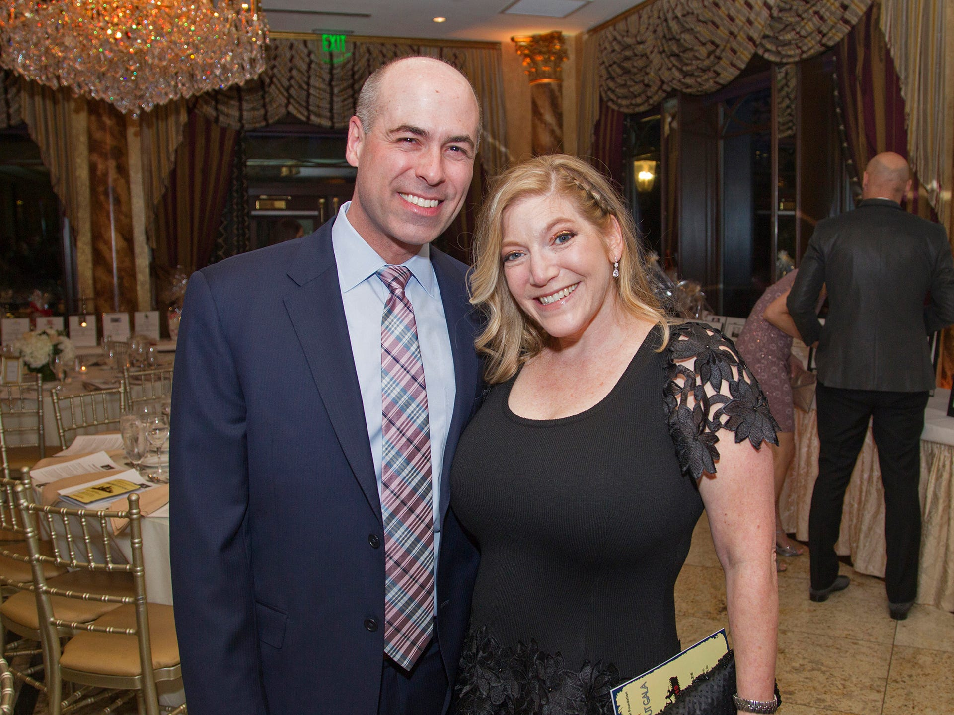 Brian and Jen Altman. Upper Saddle River Education Foundation hosted its Town Night Out Gala at Seasons in Washington Twp. 04/06/2019