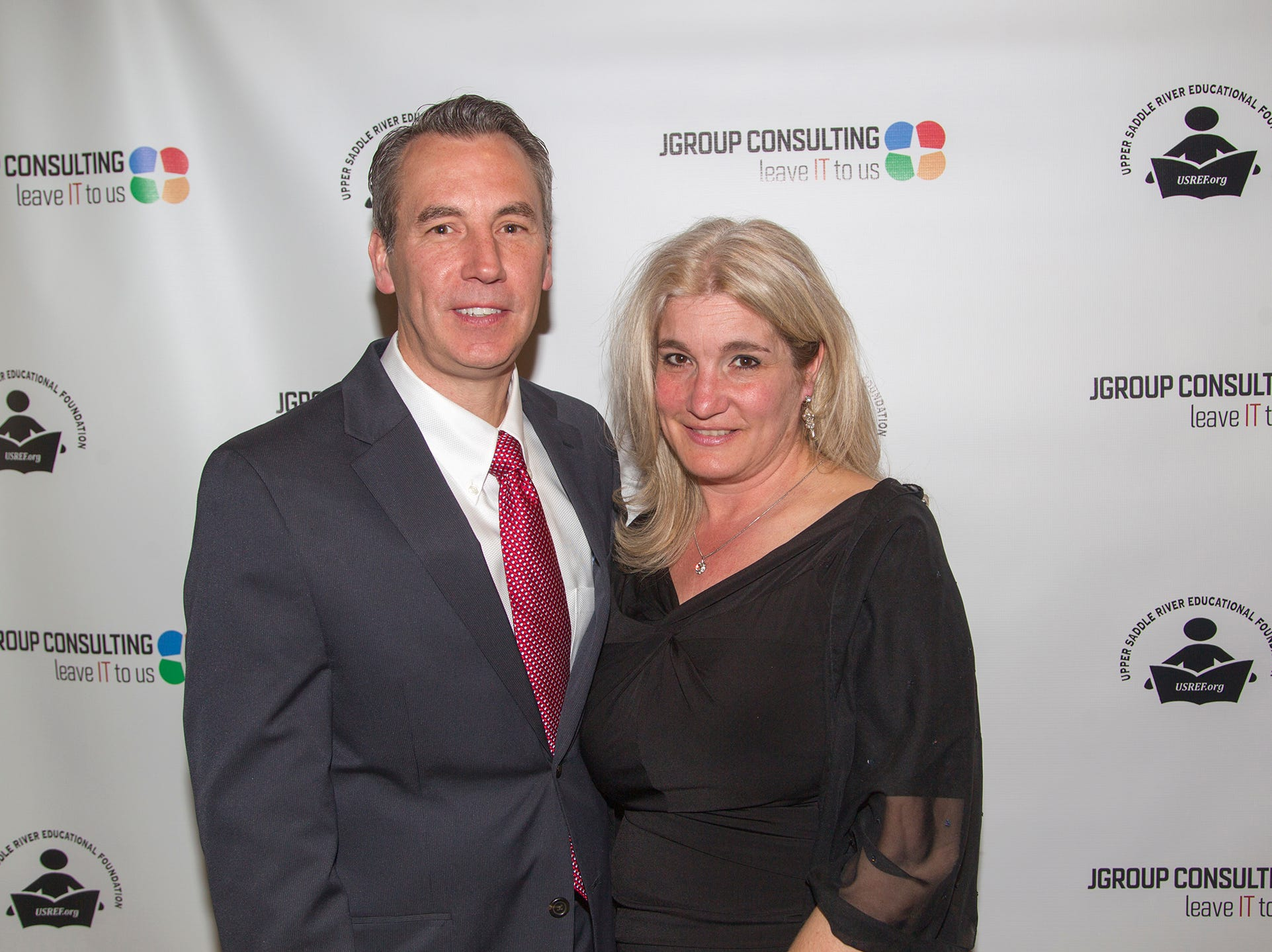 Mark Rufolo, Maria Florio. Upper Saddle River Education Foundation hosted its Town Night Out Gala at Seasons in Washington Twp. 04/06/2019