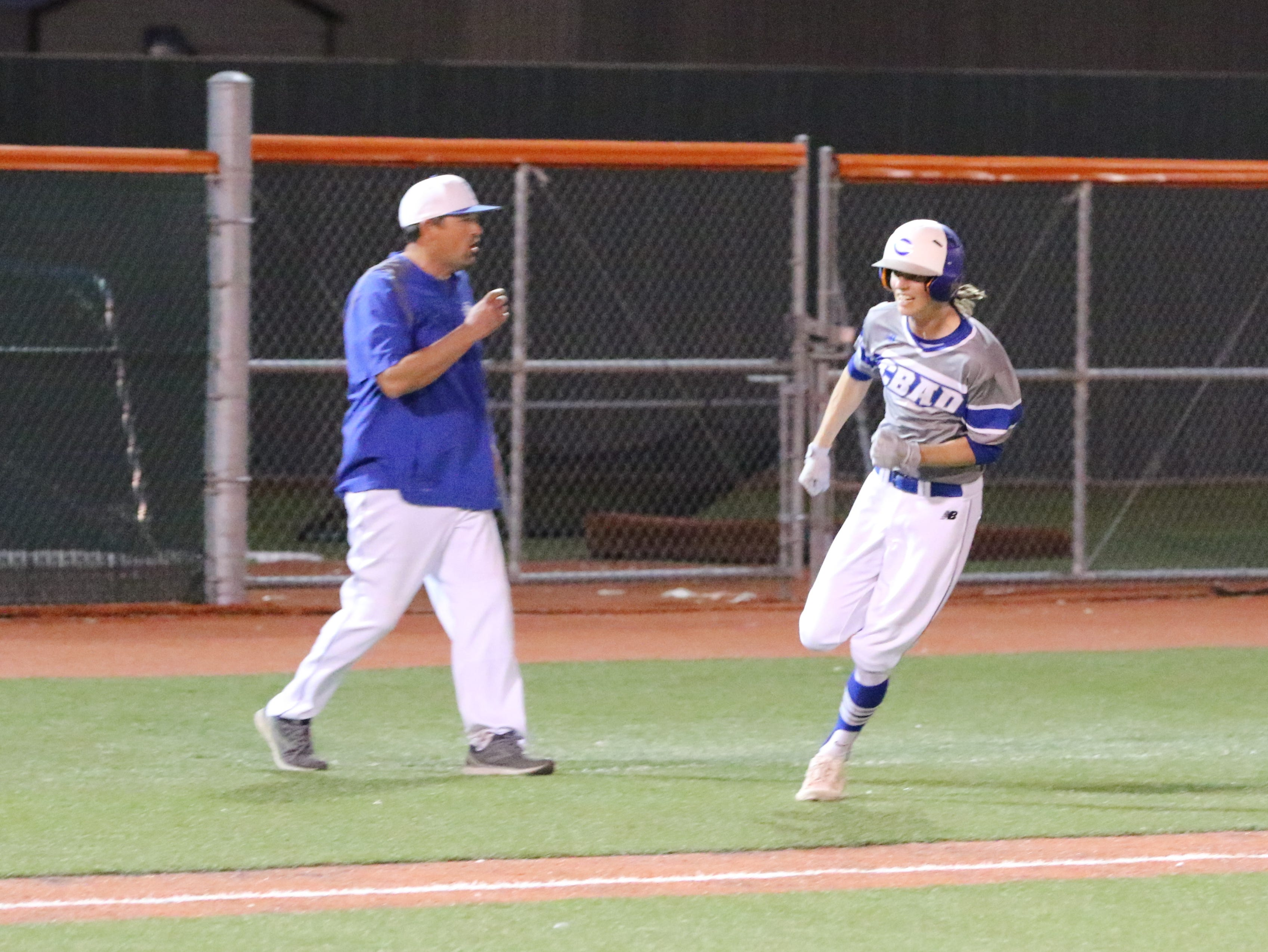 Highlights of the April 9, 2019 game between Carlsbad and Artesia.