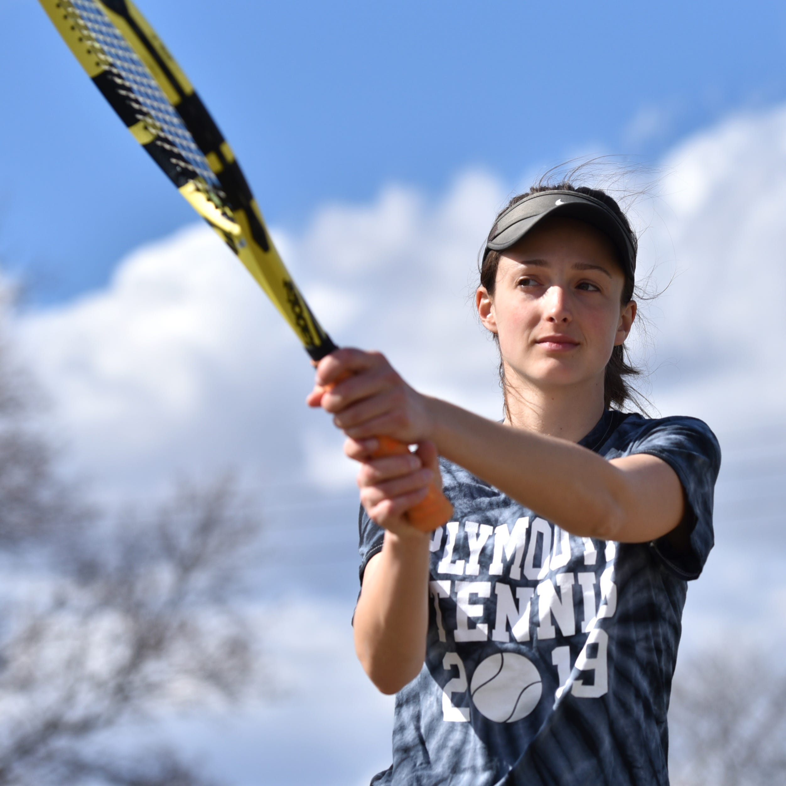 Led by top ranked Jessica Braun, Plymouth girls tennis has high hopes for this season