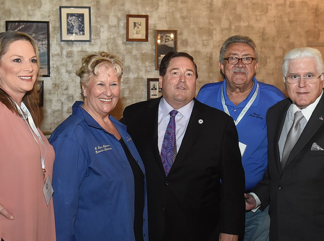 Lt. Gov. Billy Nungesser was the special guest at the 36th annual Port Association of Louisiana Conference and Reception held Tuesday at Evangeline Downs.