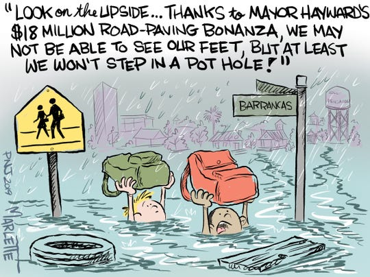 After $18 million in road-paving, should streets be flooding in Pensacola?