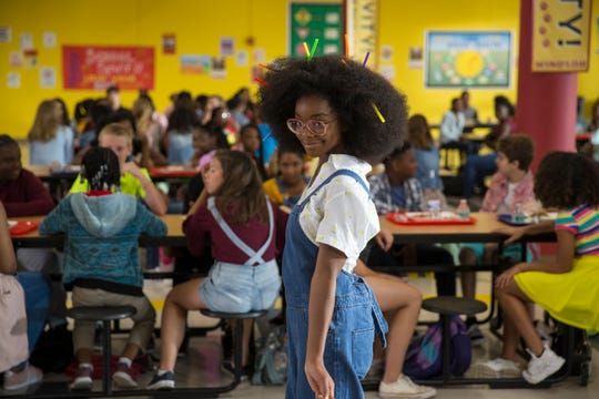 "Jordan (Marsai Martin) ventures into the school cafeteria in ""Little."""