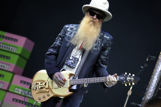 Billy Gibbons of ZZ Top performs at the Glastonbury Festival of Music and Performing Arts on Worthy Farm near the village of Pilton in Somerset, South West England on June 24, 2016.