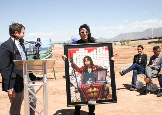 Arizona's own Alice Cooper, who is also a member of the White Castle Hall of Fame, attended the company's ground breaking ceremony on April 10, 2019.