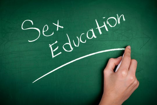 Sex education illustration