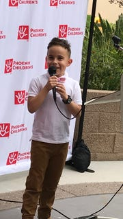 Jovani Perez, 7, kidney recipient