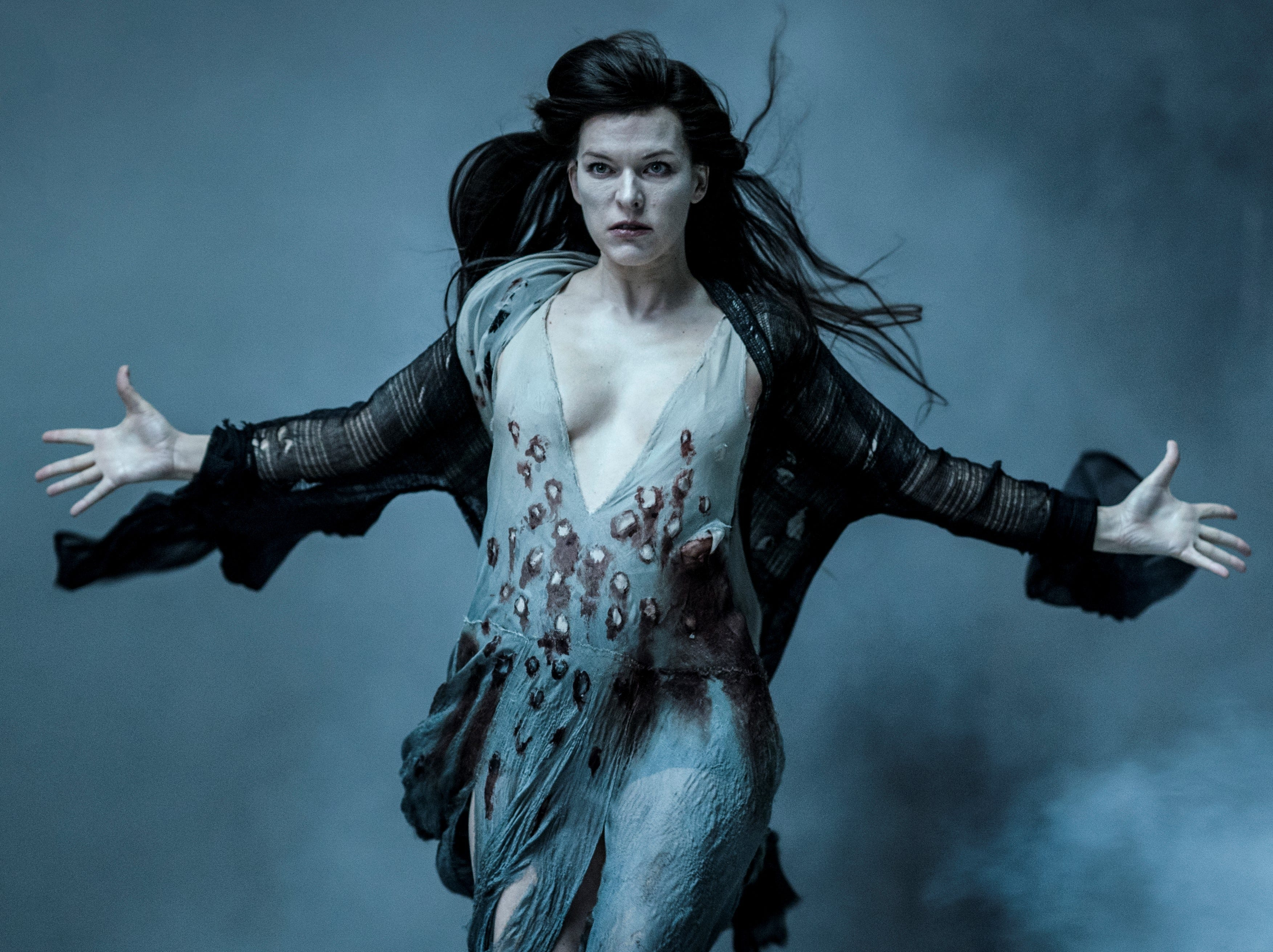 """Milla Jovovich stars as an ancient sorceress in """"Hellboy."""""""