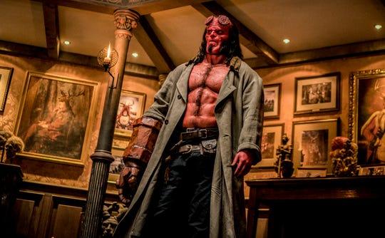 """David Harbour stars as Hellboy in """"Hellboy."""""""