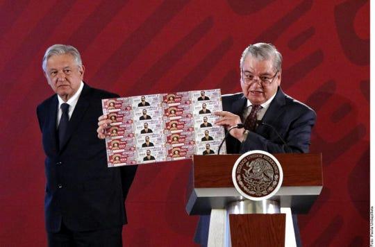 El premio mayor del billete de lotería, con la imagen de Zapata, será de 25 millones de pesos.
