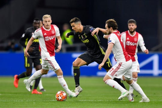 Cristiano Ronaldo fue el artífice del triunfo de Juventus ante Ajax.