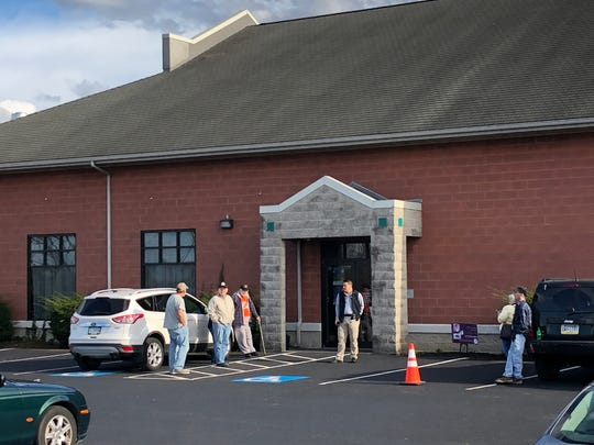 Area residents were lining up outside Hebron Catering nearly a full half hour before doors opened for Lt. Gov. John Fetterman's marijuana listening tour stop in Lebanon County.