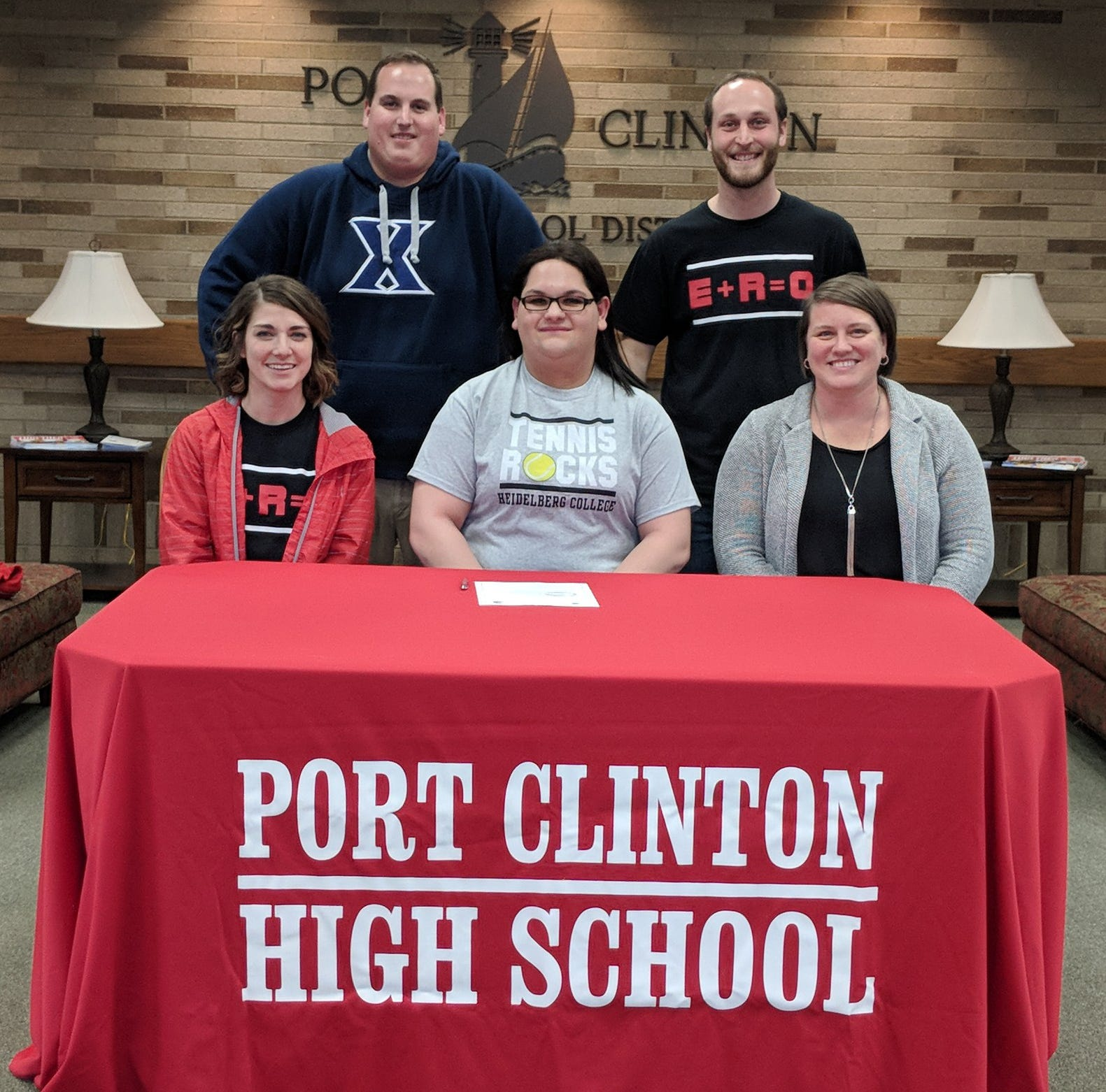 Port Clinton's Amelia Smith heads to Heidelberg with racket