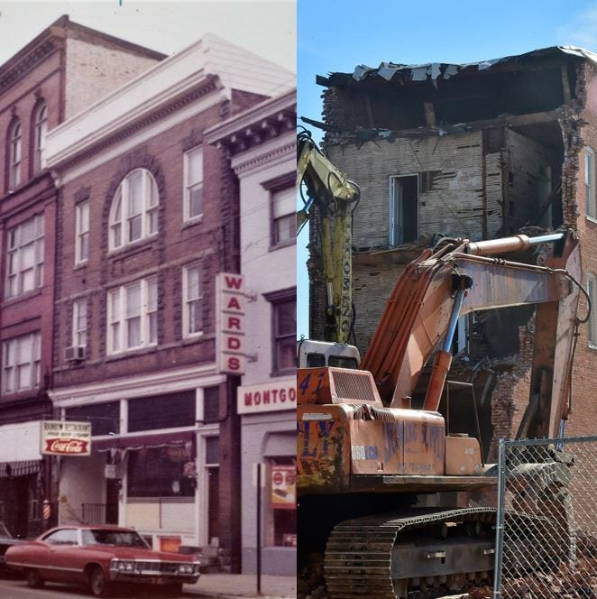 You've got to see these photos of Chambersburg's North Main Street: 1972 vs. 2019