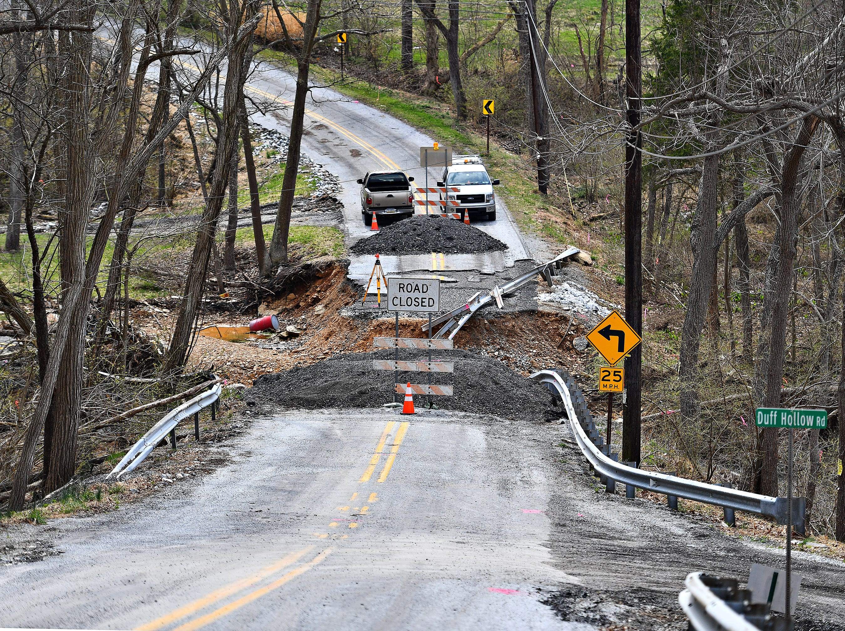 Old Forge Road bridge in Chanceford Township, Tuesday, April 9, 2019. Dawn J. Sagert photo