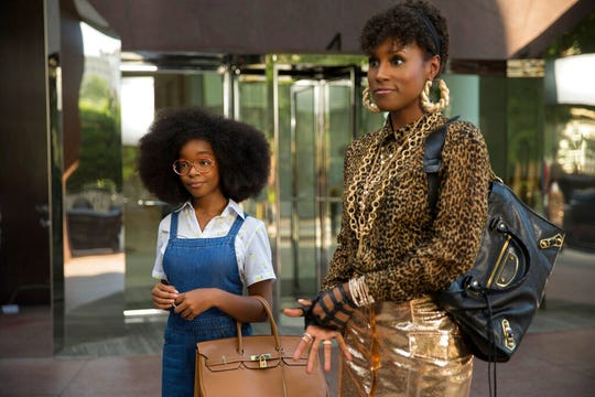 "Marsai Martin, left, and Issa Rae star in ""Little."" The movie is playing at Regal West Manchester Stadium 13 and R/C Hanover Movies."