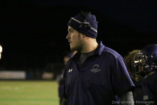 Aaron Cook has been hired as the Galena football coach.