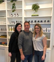 Amber Peshkin, Pete Lezeska and Alison Bates open The Little Apothecary