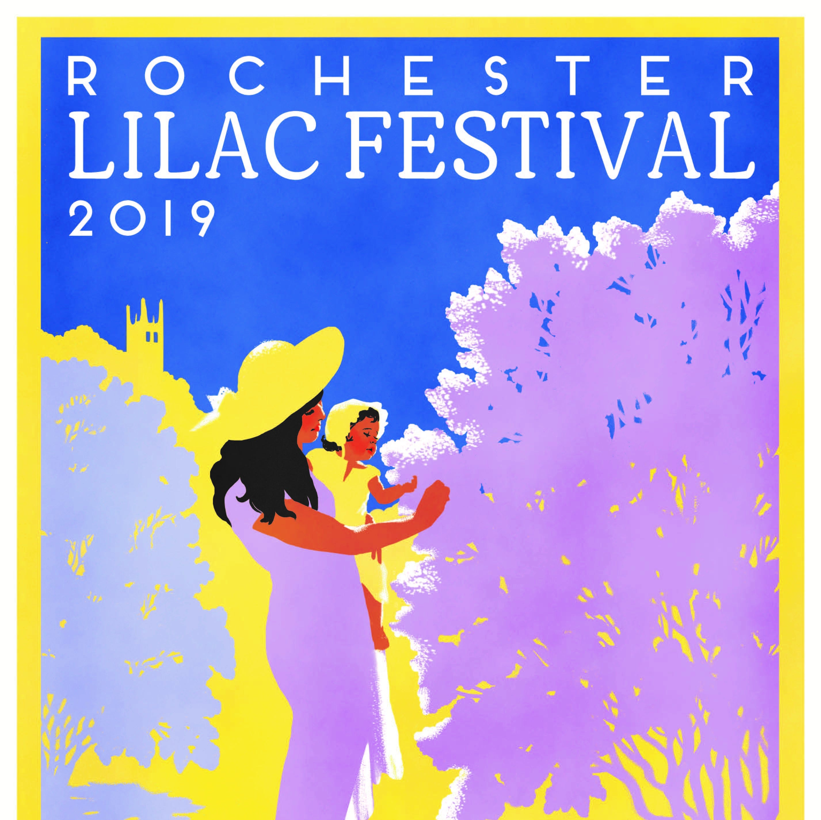 The 2019 Lilac Festival poster is unveiled