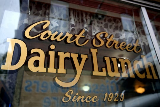 The Court Street Dairy Lunch in downtown Salem on April 10, 2019. The old-fashioned diner opened in 1929 and is the city's oldest restaurant.