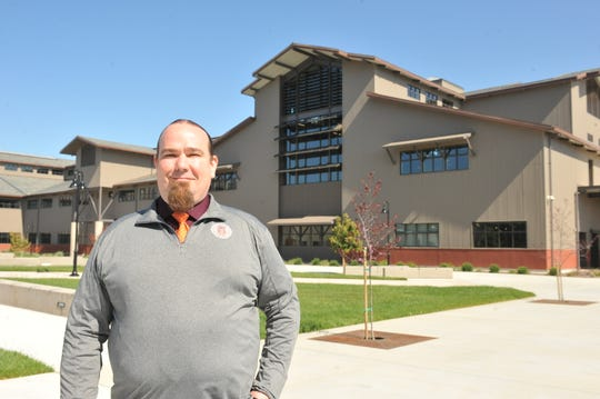 Anthony Hinton will be Rancho San Juan High School's first principal when the school opens for the 2019-20 academic year.
