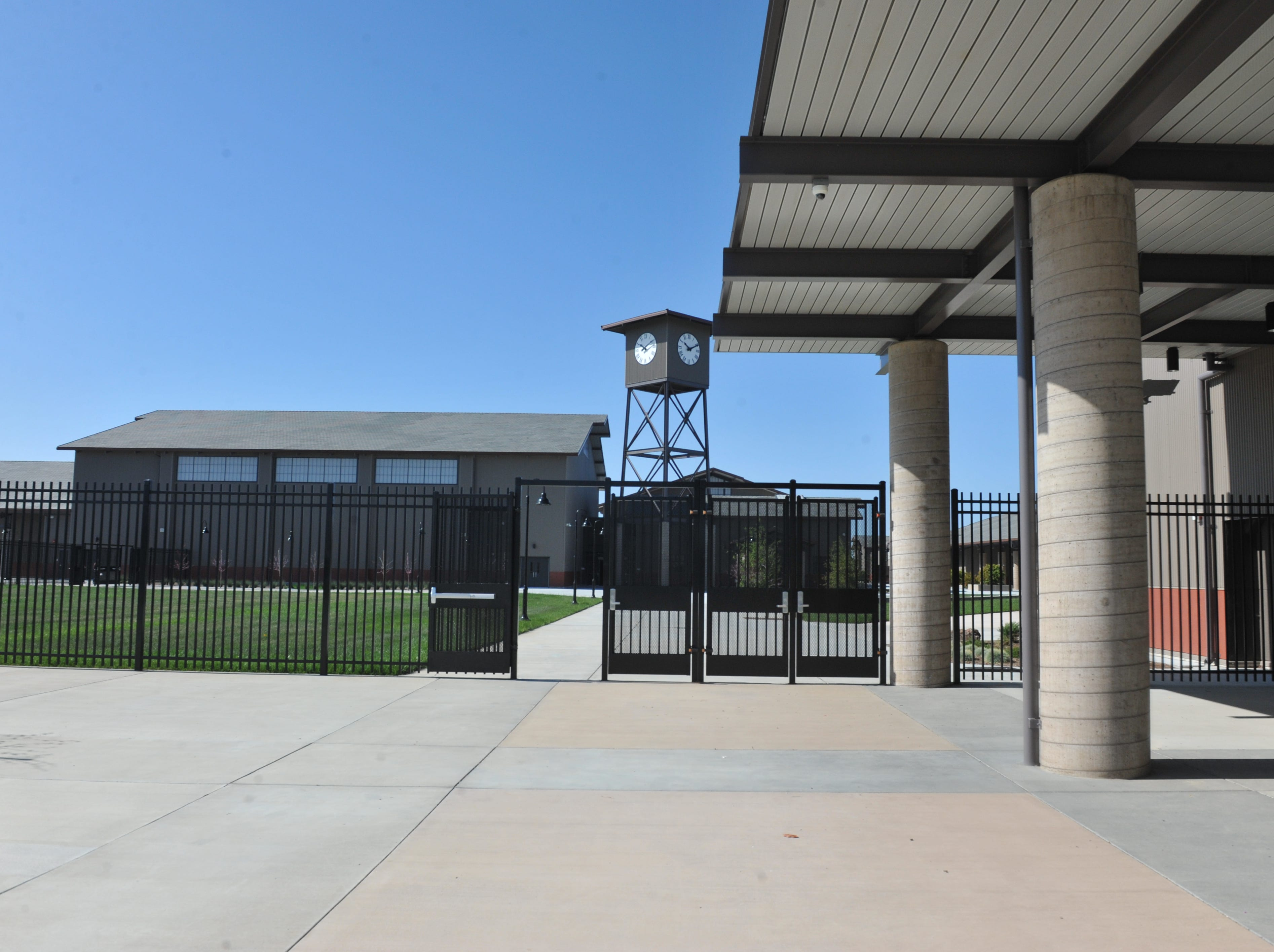 The main campus will be gated off from where visitors first have to check in at Rancho San Juan High School.