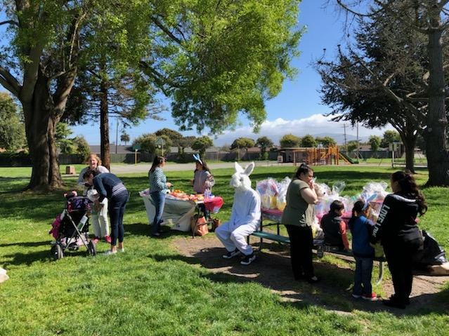 Partnership for Children put on an Easter Bunny Surprise Party for Salinas kids with life-threatening illnesses Tuesday. Partnership for Children offers rides or financial assistance with transportation to and from hospitals or doctors for these children and their families.