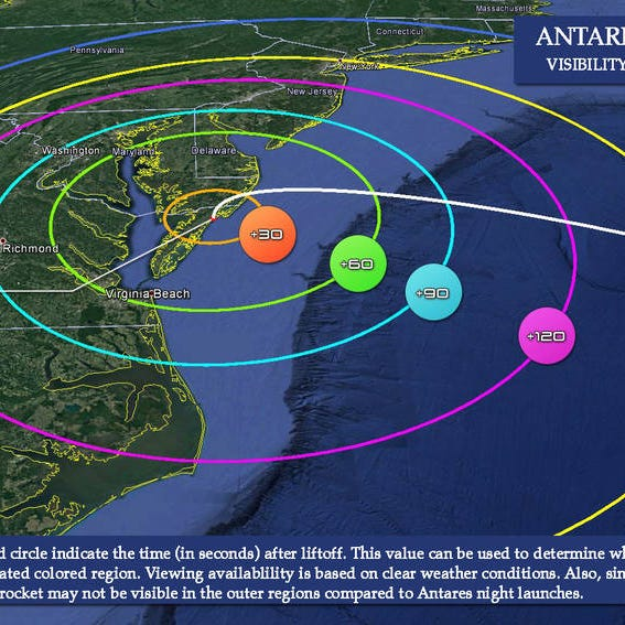NASA Wallops launch: Here's where you can see it