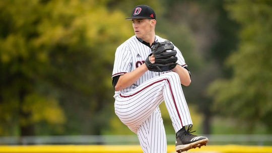 Sioux Falls Christian alum Spencer Koelewyn is one of the top starting pitchers in the Summit League