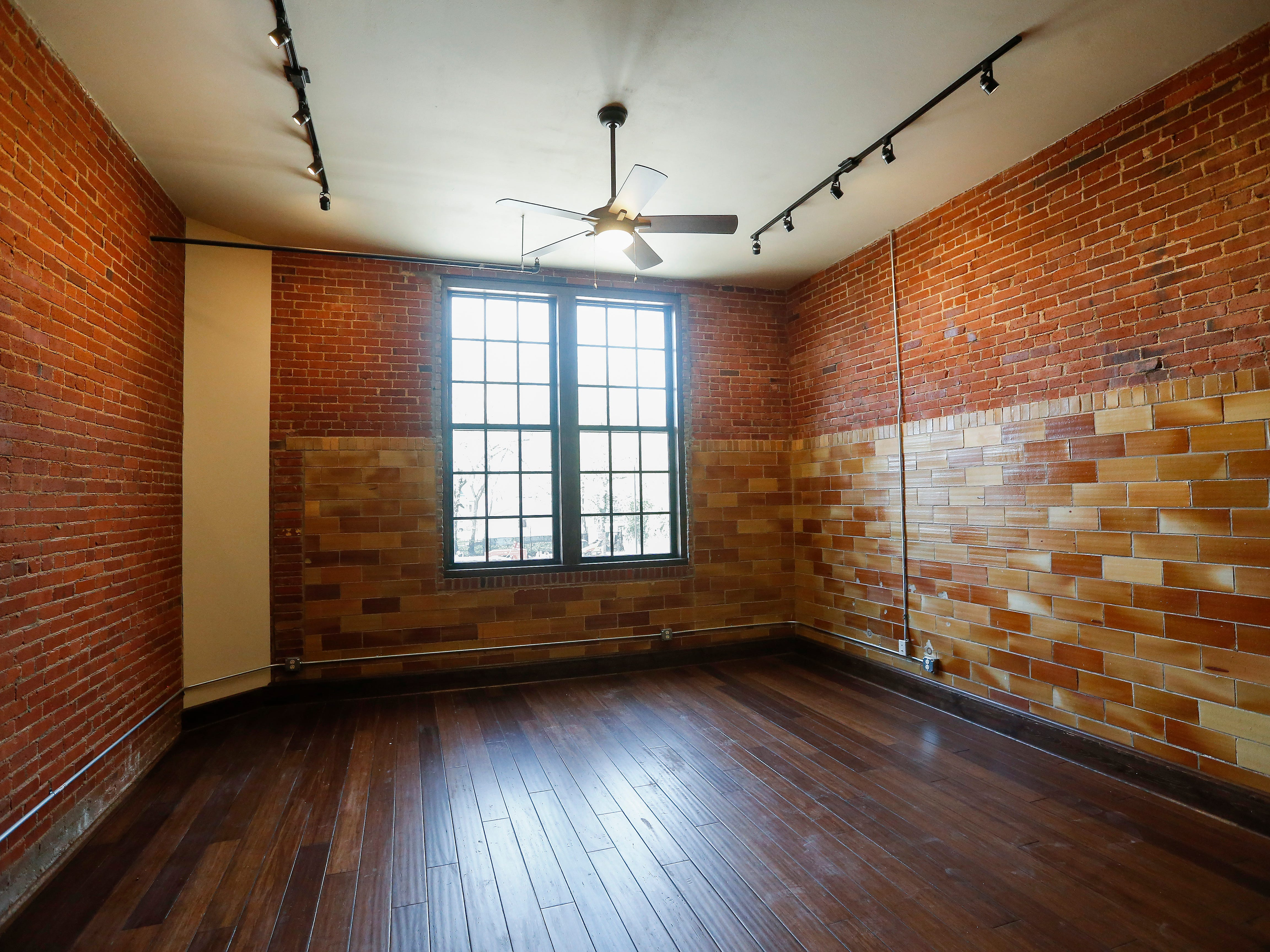 This apartment is located on the second floor at the Bailey School Lofts on Central Street near Campbell Avenue.