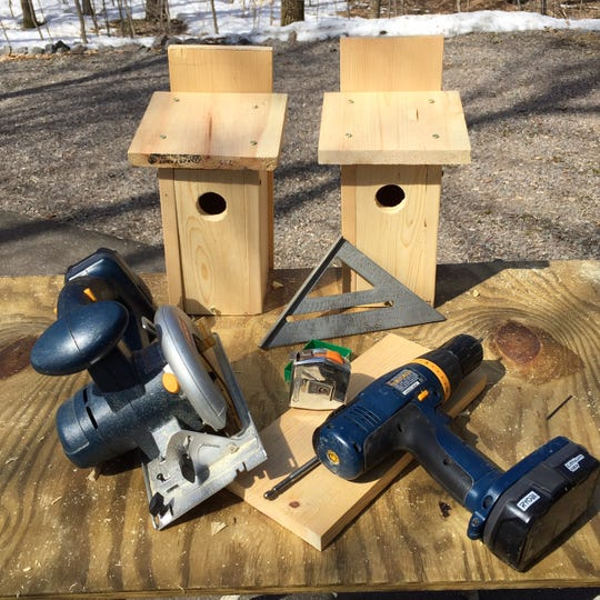 Building birdhouses can help a person stay busy during this in-between time of the year.