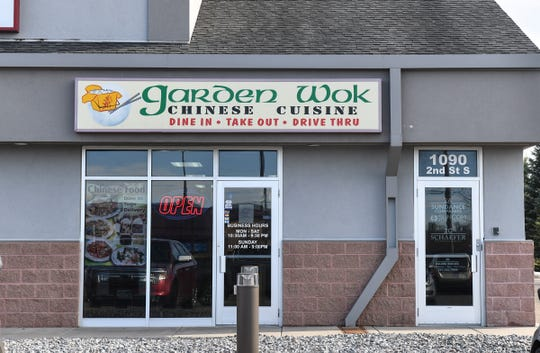 The Garden Wok location is pictured Tuesday, April 9, in Sartell.