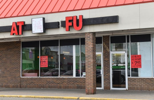At Fu Chinese Buffet, formerly called Great Wall Buffet, is pictured Tuesday, April 9, in St. Cloud.
