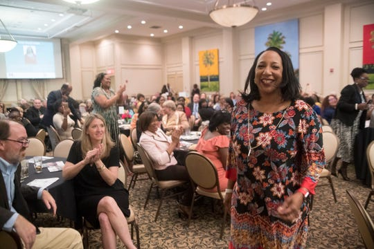 Twenty-five Women You Need to Know and 5 Young Women to Watch in 2019 were honored by the Tallahassee Democrat at the University Club Center in Doak Campbell Stadium Tuesday, April 9, 2019.