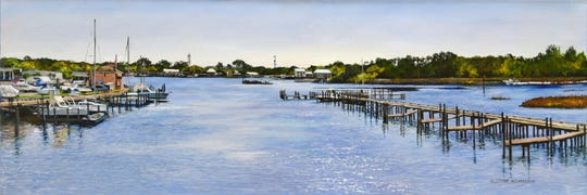 """Eluster Richardson's new exhibit covers """"From the Red Hills to the Forgotten Coast."""""""