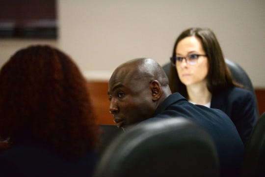 Former Tallahassee Police Department officer Vincent Crump is on trial after being accused of raping a woman during a traffic stop last year
