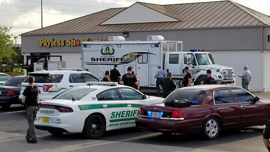 The St. Lucie County Sheriff's Office bomb squad went to State Road 60 and 58th Avenue to investigate a suspicious package in a parking lot.