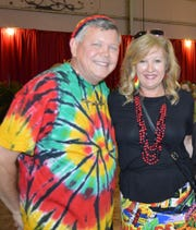 "Martin and Renee Bireley at Indian River Habitat for Humanity's ""Jamaican Me Crazy"" fundraiser at the Sun Aviation Hangar."