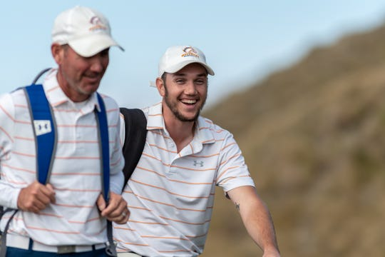 UTA senior Tanner Gore shot a round of 65 at Chambers Bay Golf Course, the Seattle-area course that hosted the 2015 U.S. Open.