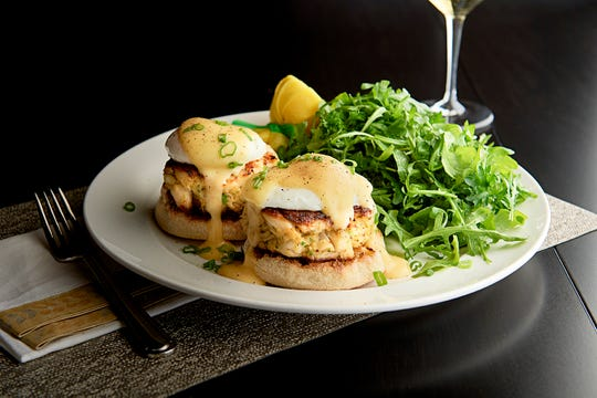 Crab cake Benedict will be on the menu when Mastro's Ocean Club in Malibu serves an a la carte Easter-brunch menu on April 21.