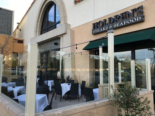 The patio and dining room at Holdren's Steaks & Seafood in Newbury Park will be open for Easter Sunday brunch service.