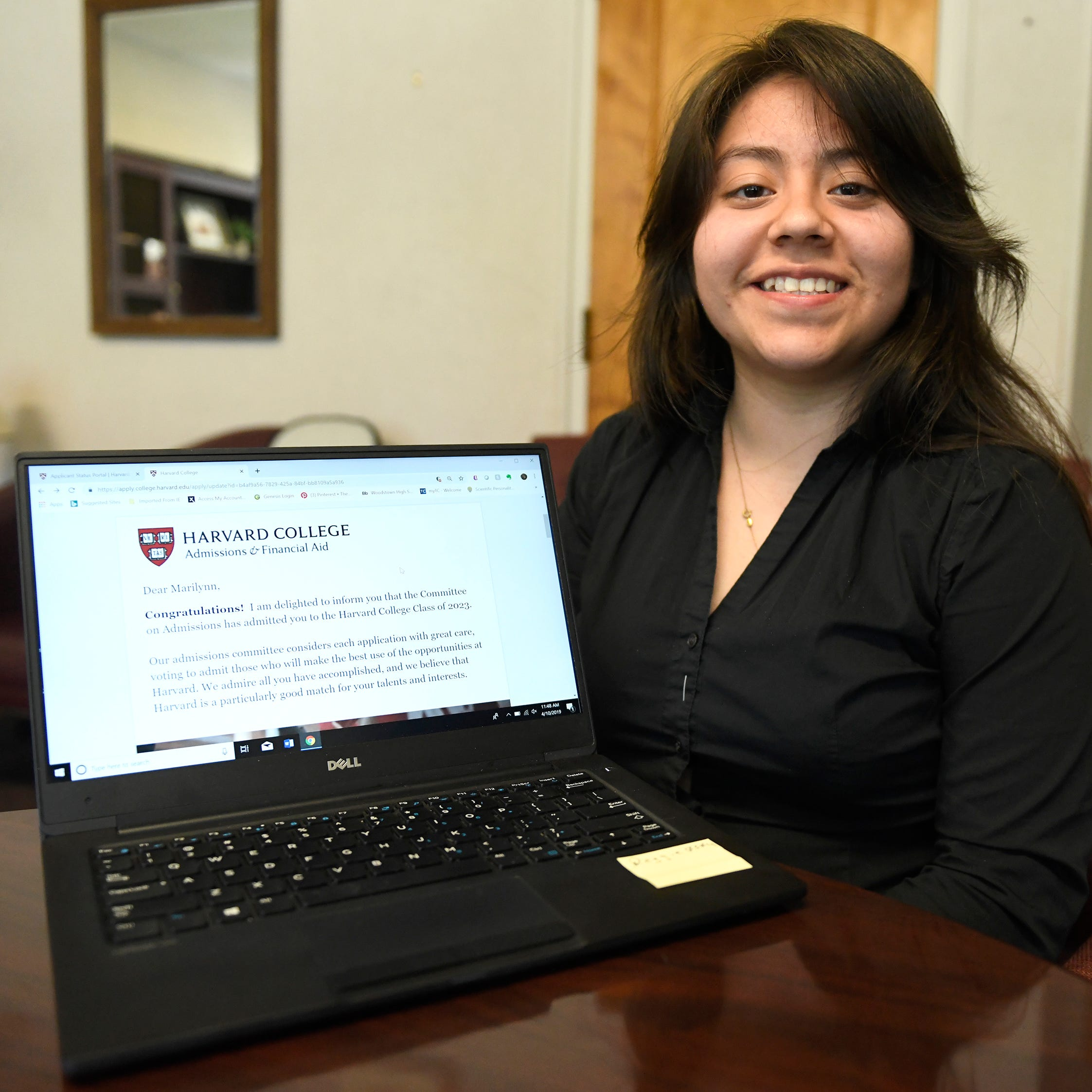 Vineland High senior Marilynn Miguel awarded full Harvard scholarship