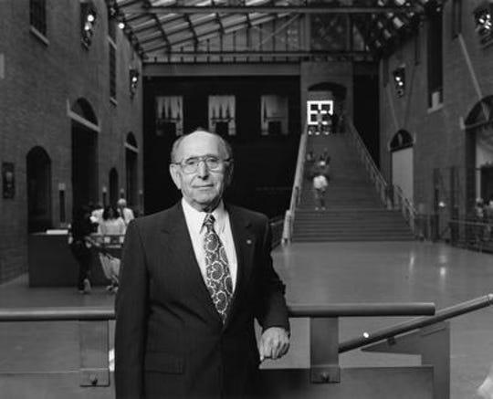 Miles Lerman, shown here at the U.S. Holocaust Memorial Museum.