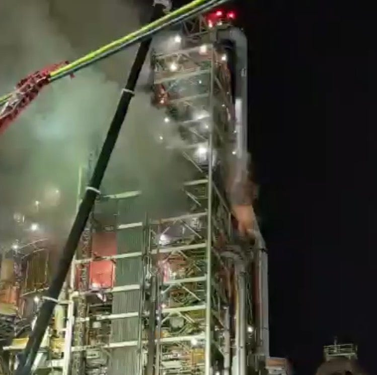 DNREC looking into refinery fire, but may not have authority to demand details