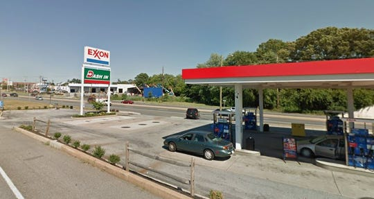 A New Castle Exxon Dash In was temporarily closed by the health department on April 4.